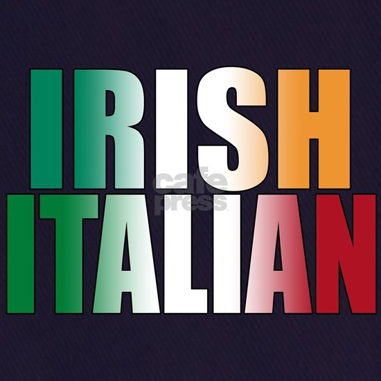 IRISH ITALIAN (blk) T-Shirt
