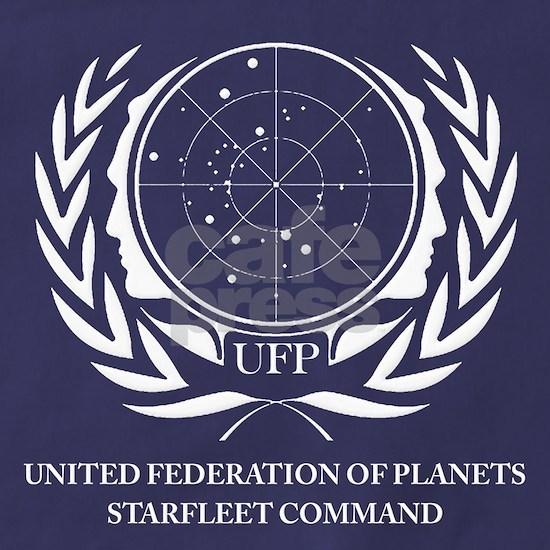 Star Trek United Federation of Planets White