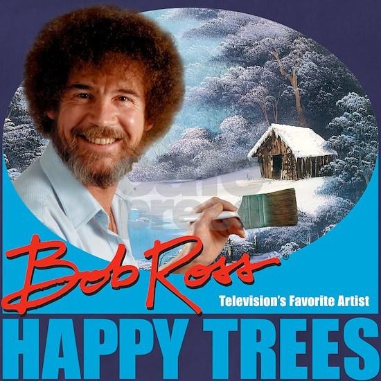 {Happy Trees, Sky Blue}
