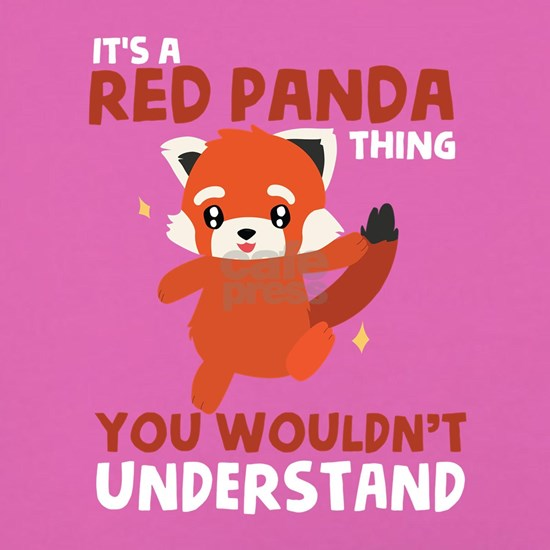 Kids Red Panda T-Shirt