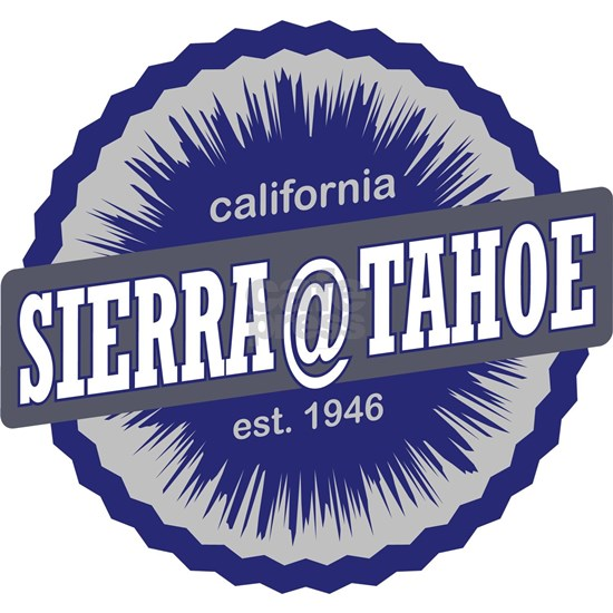 Sierra-at-Tahoe Ski Resort California Navy Blue