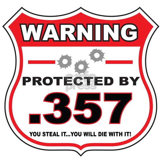 protected by 357 shield