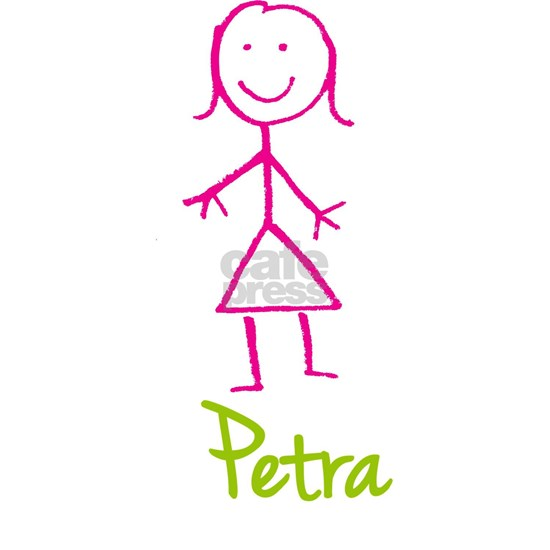 Petra-cute-stick-girl Men's Classic T-Shirts Petra-cute ...