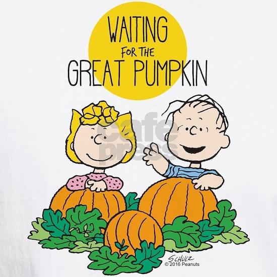 Peanuts Waiting on the Great Pumpkin