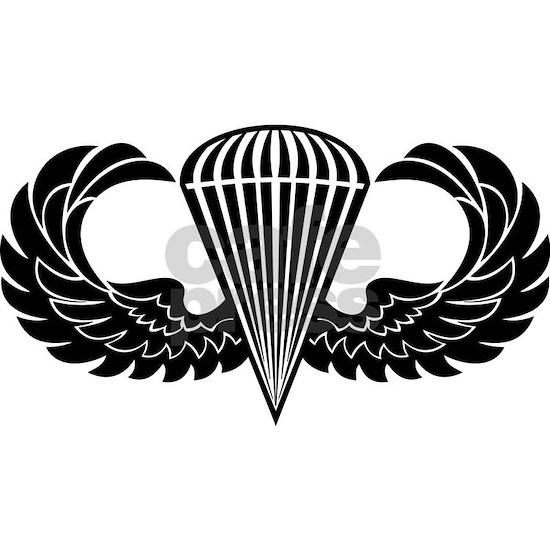 Jump Wings Stencil