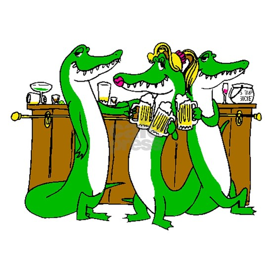 Alligators At Bar