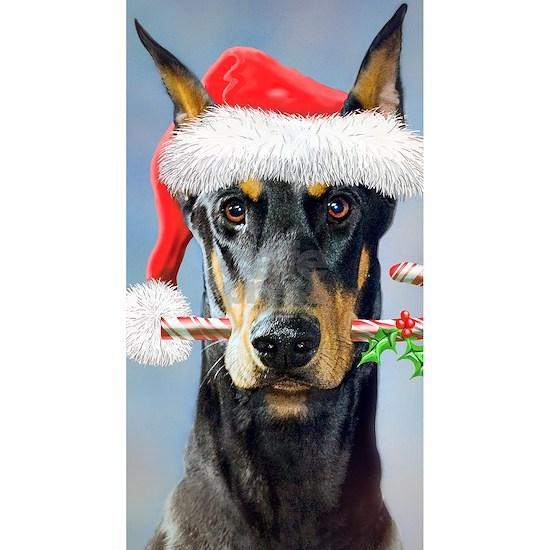 Doberman Christmas