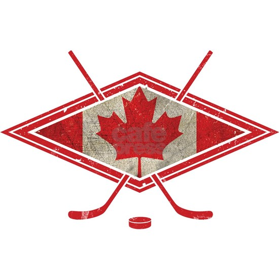 Canadian Hockey Flag