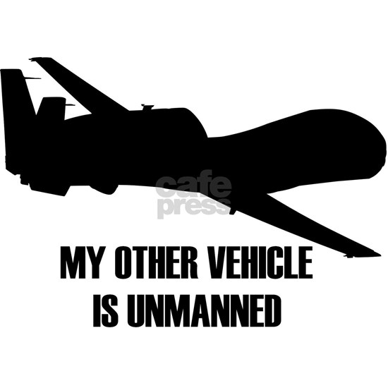 my other vehicle is unmanned