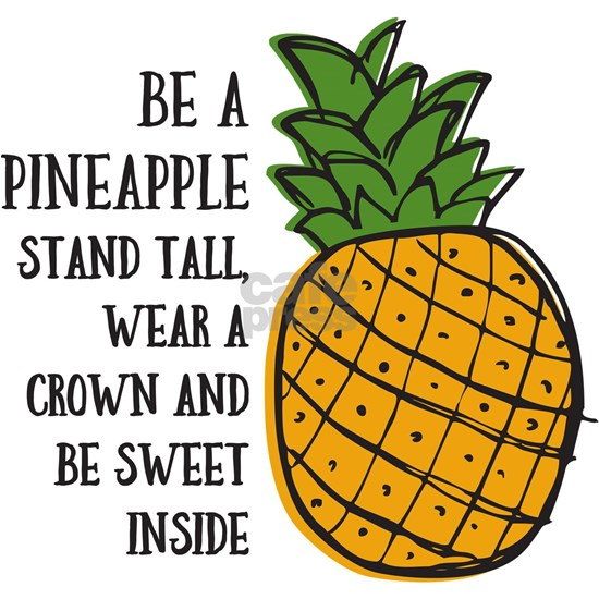 Be A Pineapple Stainless Water Bottle 1 0l By Pinkinkart Cafepress