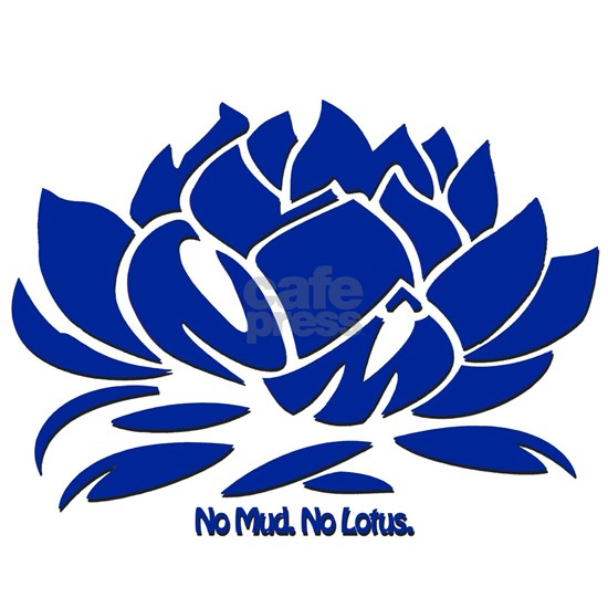 No Mud No Lotus Blue