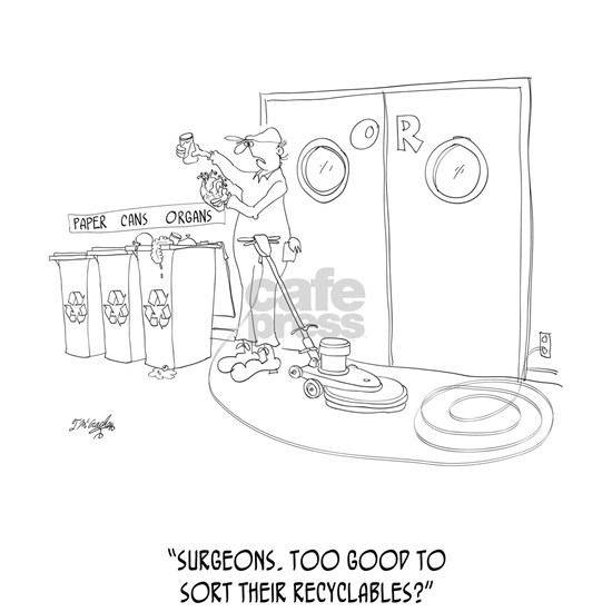 Recycling Cartoon 9265