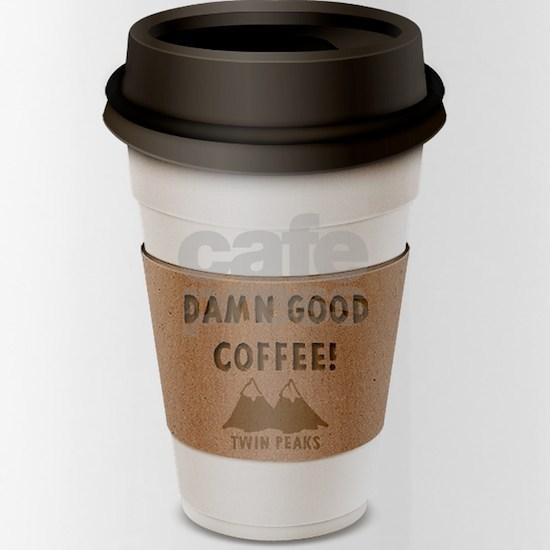 Twin Peaks Damn Good Coffee Logo