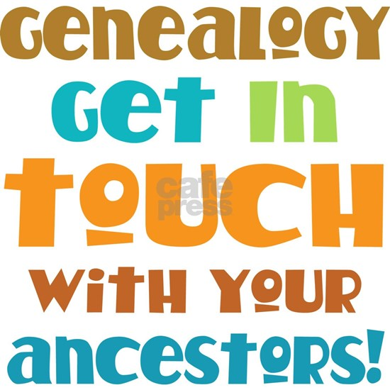 get in touch w your ancestors