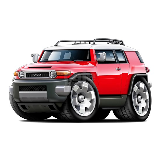 Fj Cruiser Red Car