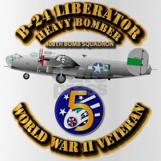 T-Shirt - AAC - 22BG - 408th BS - B-24 - 5th AF