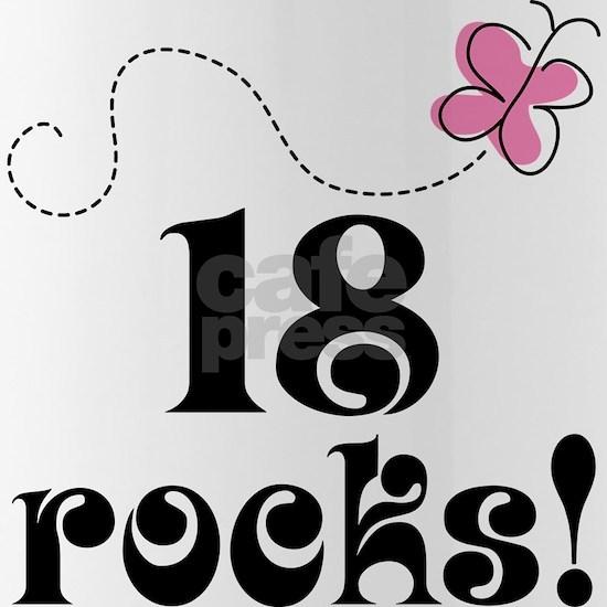 18 rocks pink butter