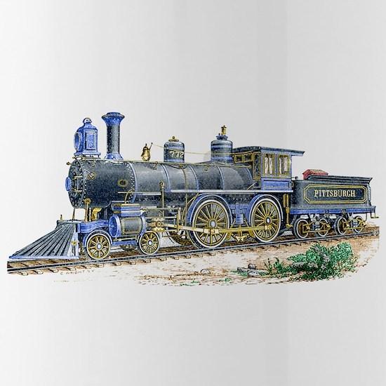 1894 Locomotive Sketch