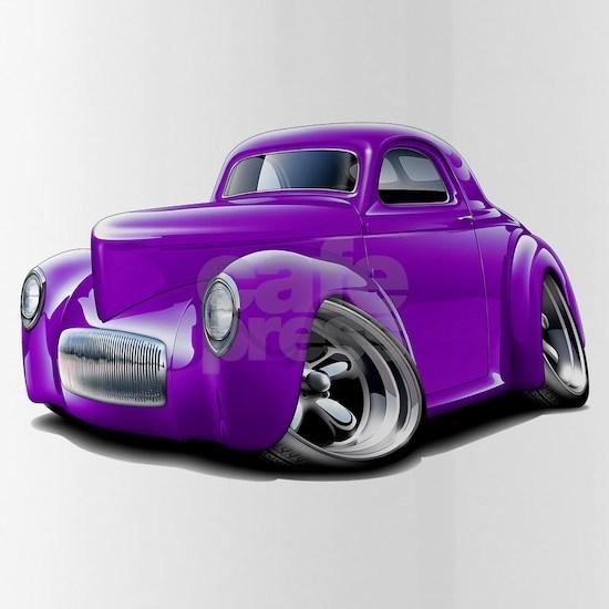 1941 Willys Purple Car