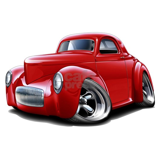 1941 Willys Red Car