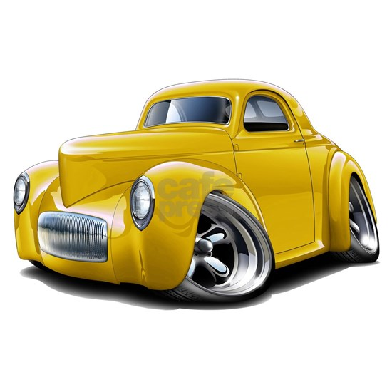 1941 Willys Yellow Car