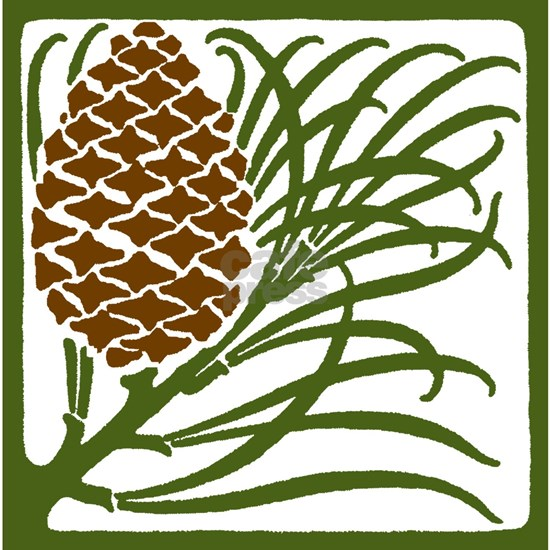 Giant Pine Cone Color