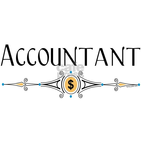 Accountant Decorative Line
