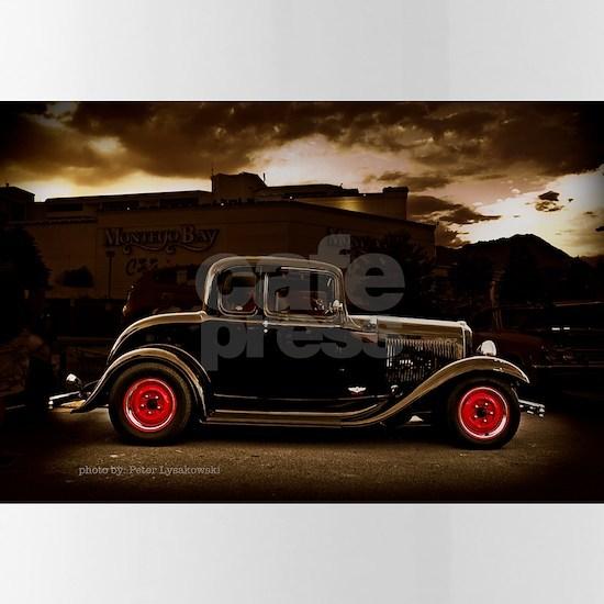 1932 black ford 5 window