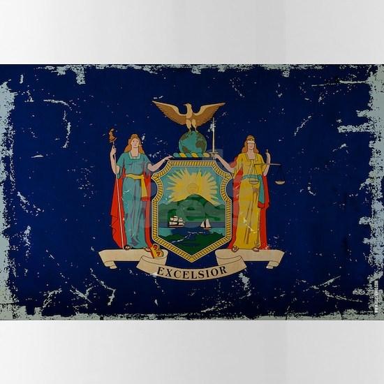 New York State Flag VINTAGE