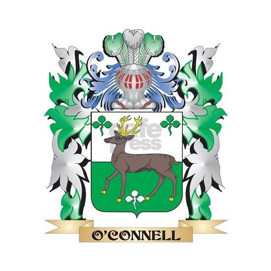 O'Connell Coat of Arms - Family Crest