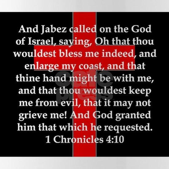 1 Chronicles 4:10