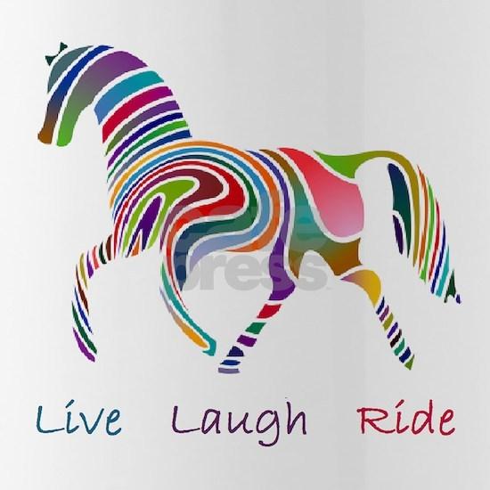 horse rainbow_horselarge live love laugh