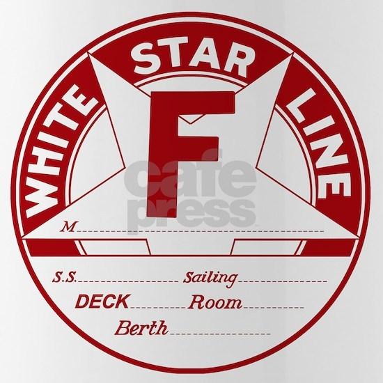 White Star Line Luggage Tag- No Name