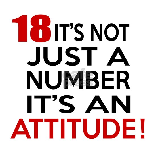 18 It IS Not Just Number