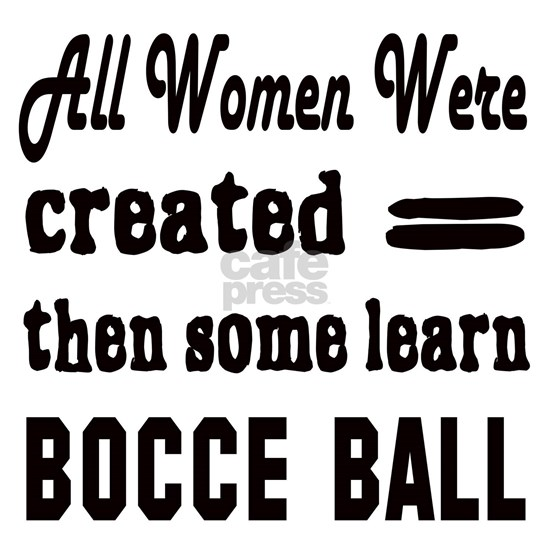 Some Learn Bocce ball