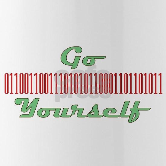 go binary yourself C copy