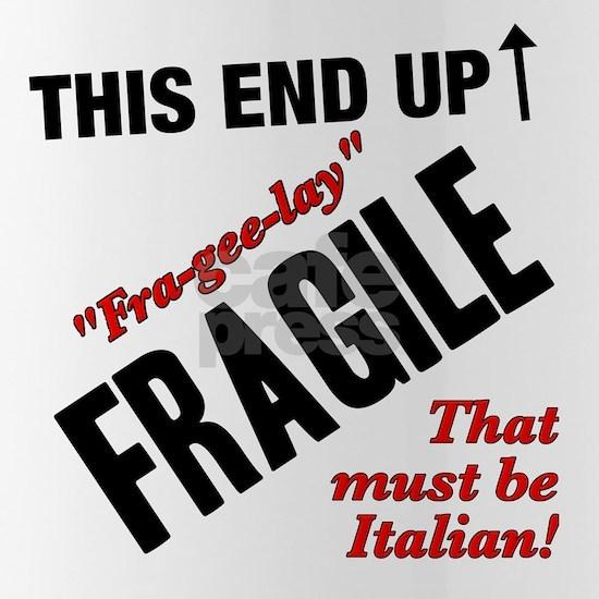 A Christmas Story Fragile Italian black