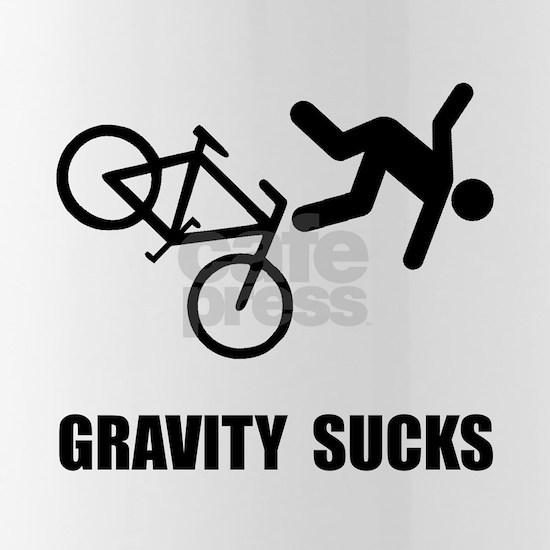 Gravity Sucks Bike Black