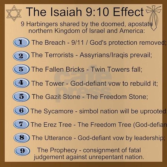 Isaiah 9:10 Effect