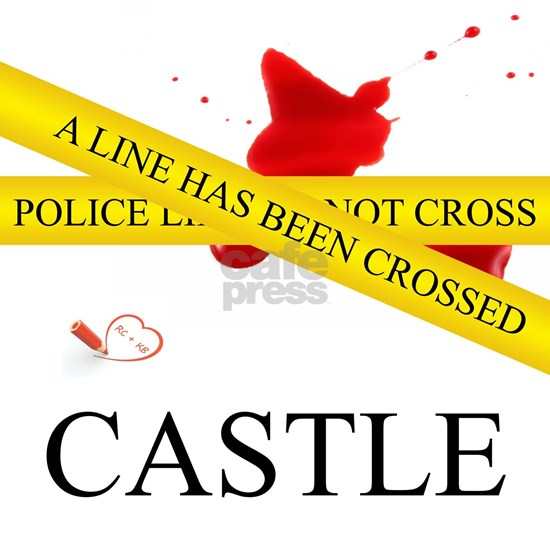 Castle: A Line Has Been Crossed Police Tape