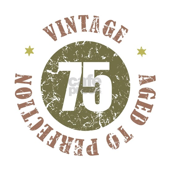 75th Vintage birthday