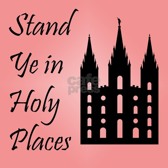Stand Ye In Holy Places on Pink