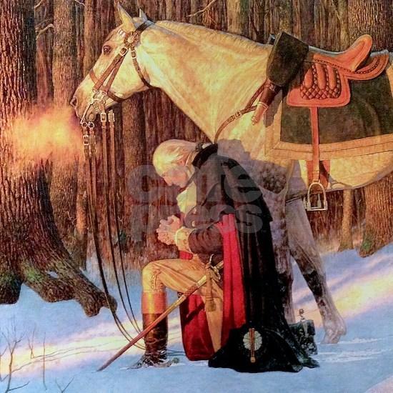 Mt. Vernon Painting of George Washington