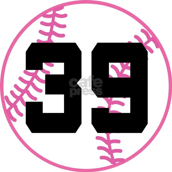Softball Player Number 39 Sports