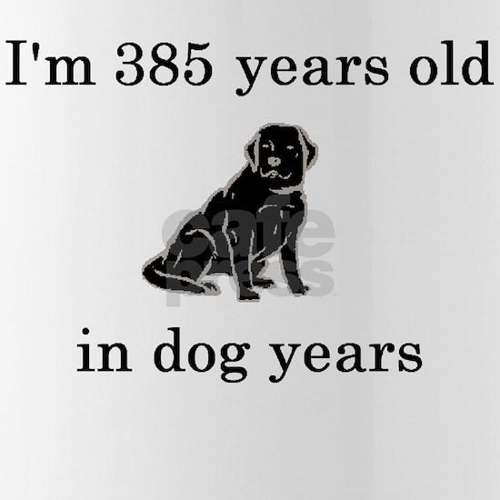 55 birthday dog years lab