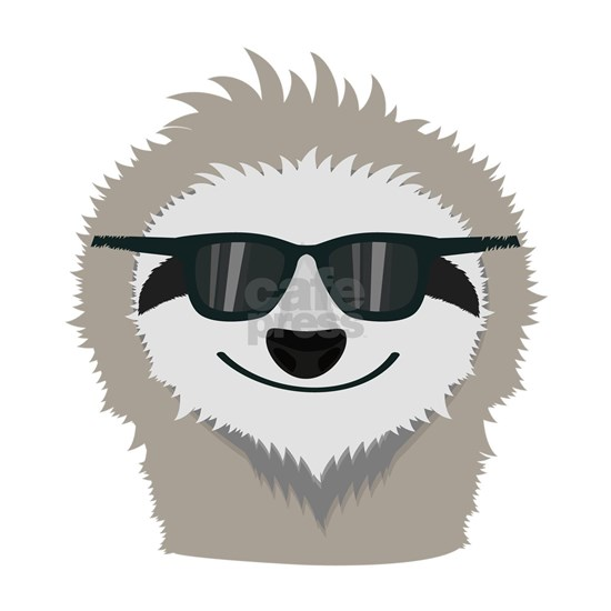 Sloth with sunglasses