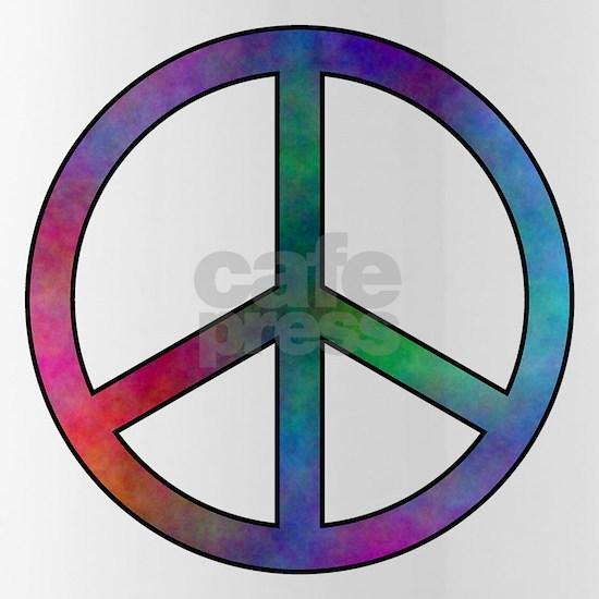 Multicolored Peace Sign
