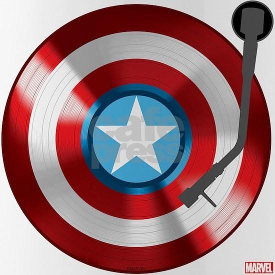 Captain America Vinyl Shield