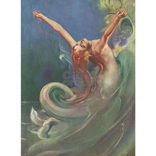 Vintage 1930s Mermaid
