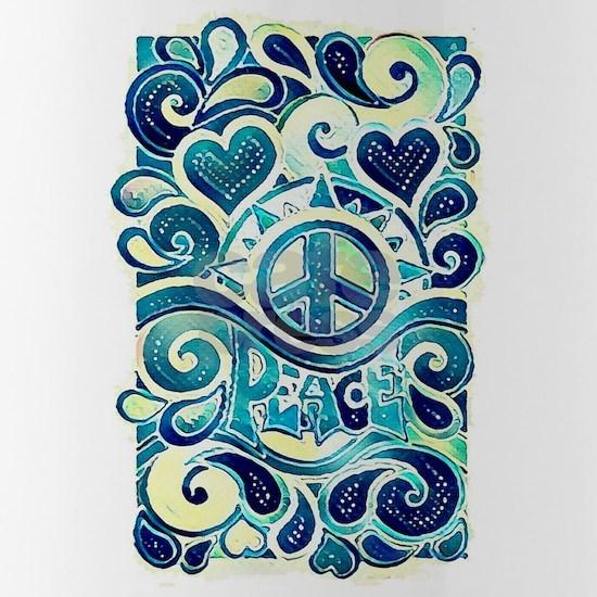 Colorful Hippie Art